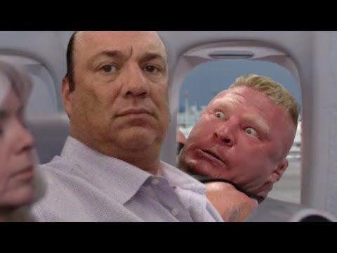 Brock Lesnar Stalking Paul Heyman Brock Lesnar Sports Memes Paul Heyman