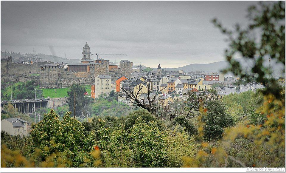 Panorámica #Ponferrada #ElBierzo #León FOTOGRAFÍA: Roberto Vega