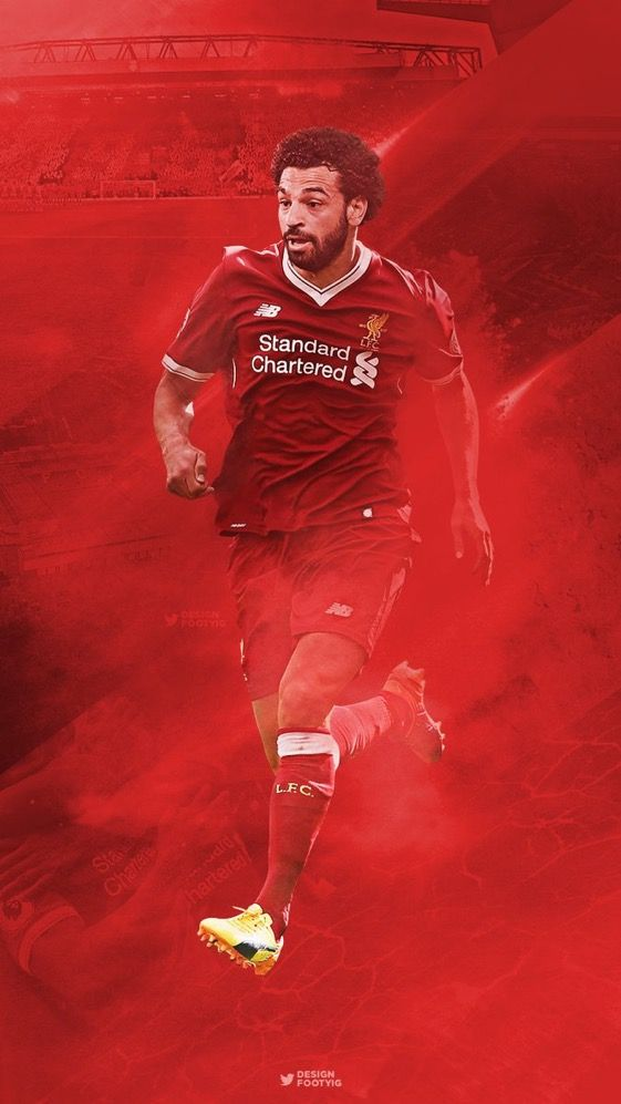 Mo Salah - New LFC Signing - Wallpaper - iPhone/Android | Android | Salah liverpool, Mohamed ...