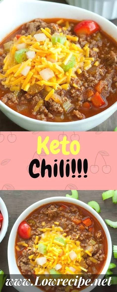 Keto Beanless Chili Recipe