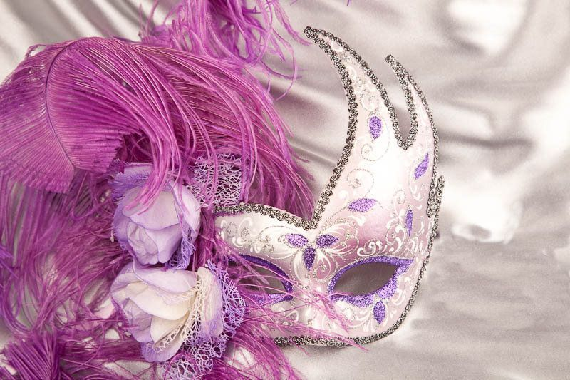 purple carnival mask wallpapers - photo #1