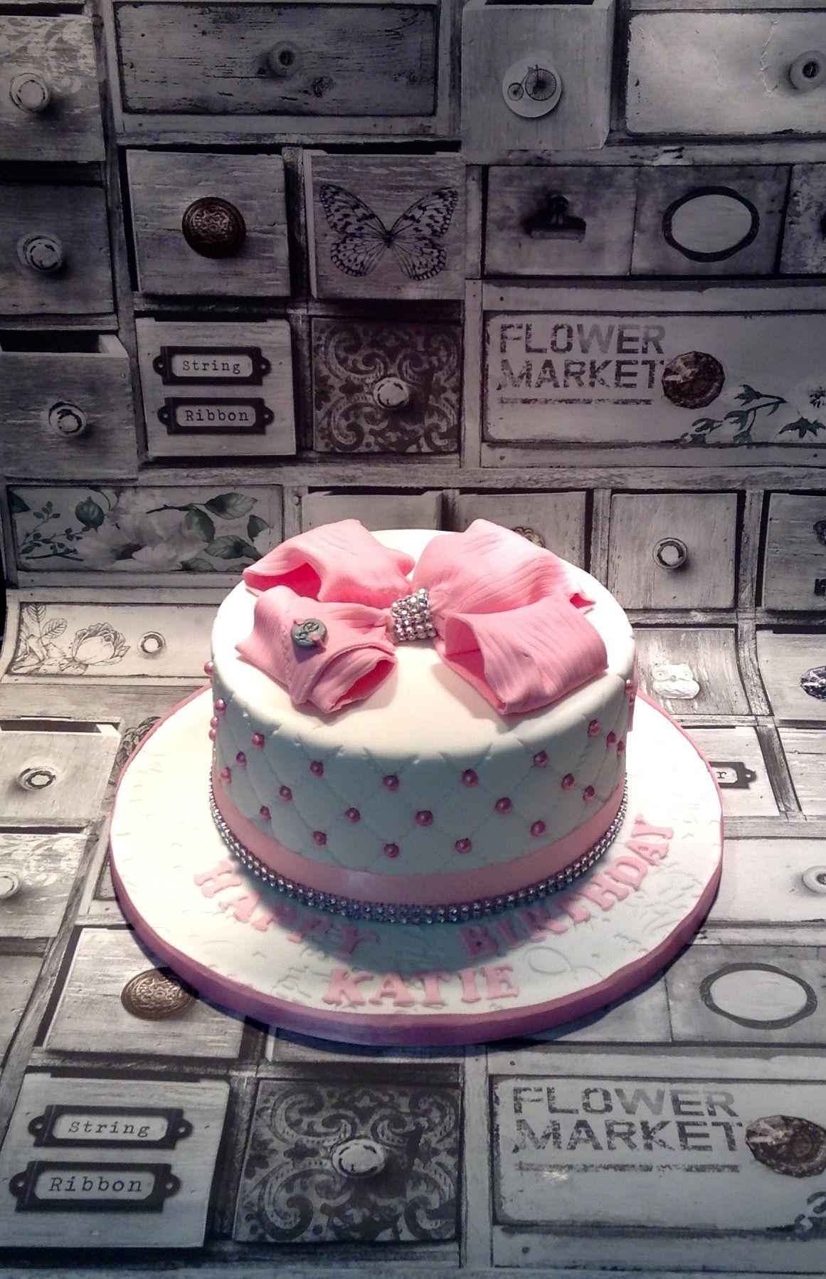 Jo Jo Bow Themed Cake Kids In 2018 Pinterest Birthday Jojo