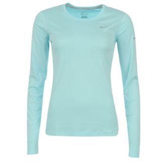 Nike Miler Long Sleeve Running Top Ladies - SportsDirect.com c97de25767