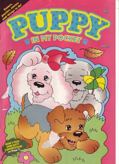 Comics - Puppy in my Pocket