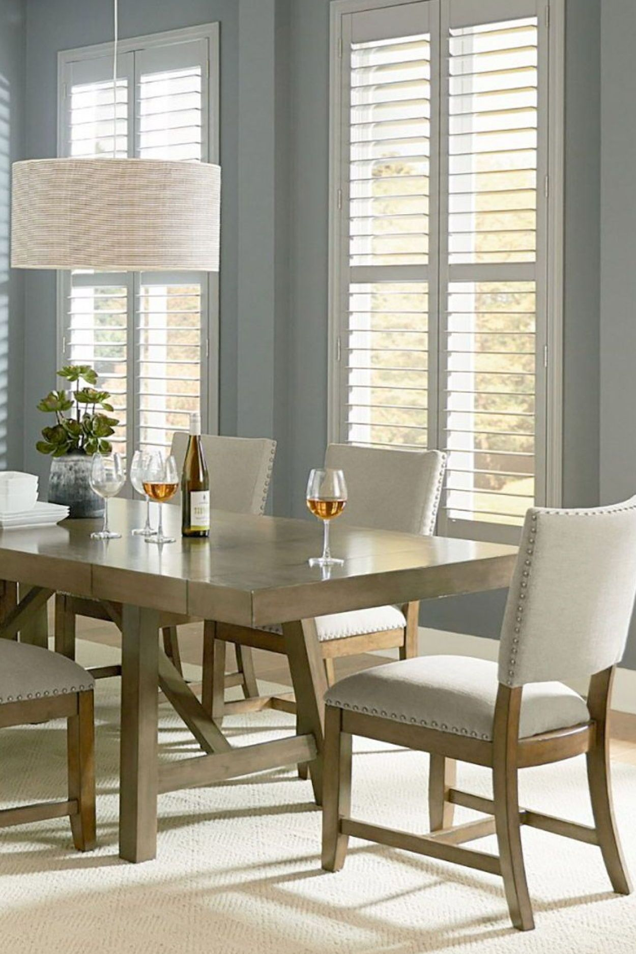 omaha 7 piece dining set the table features an impressive