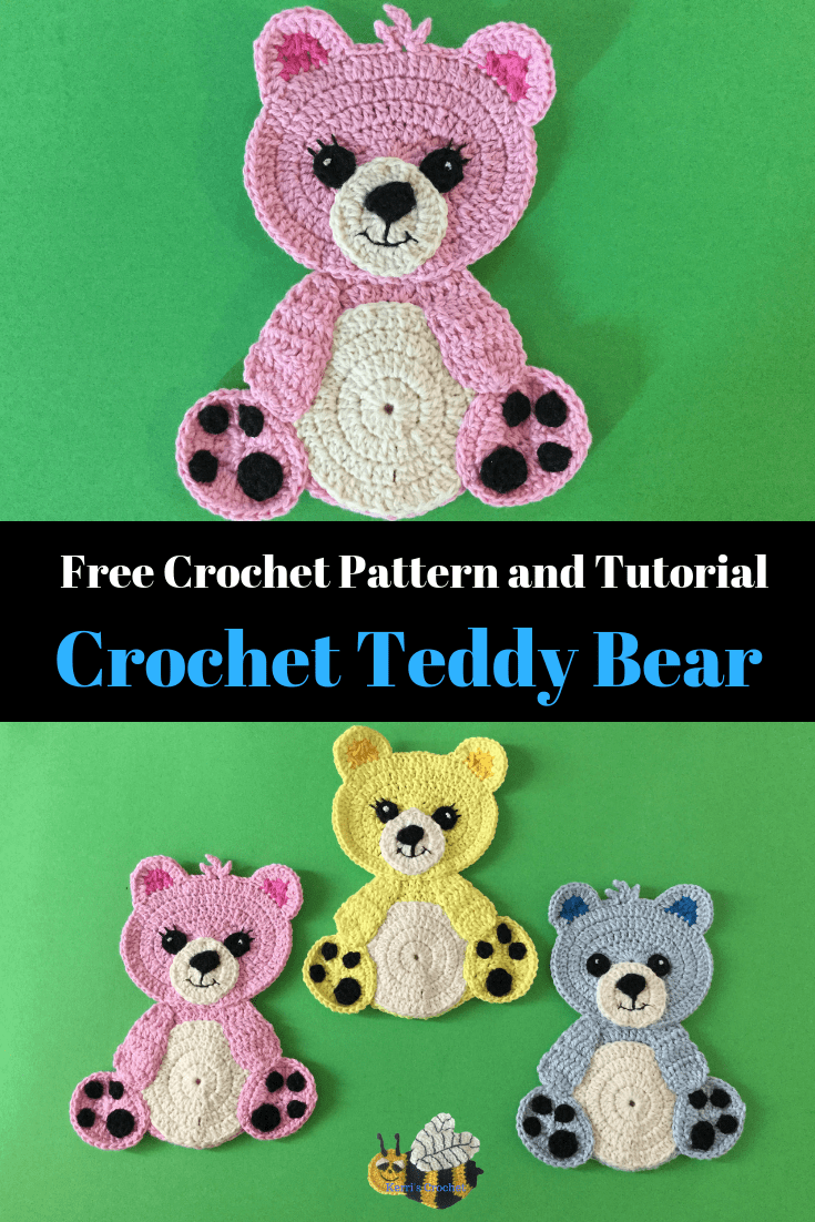Free Crochet Teddy Bear Pattern
