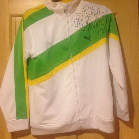 PUMA JACKET (YOUTH) Excellent condition. Youth puma jacket. Great bright colors. In excellent condition. Puma Other