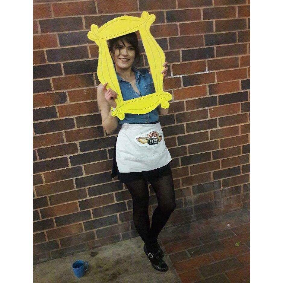Waitress Rachel Green From Friends Costume Halloween Costume Outfits Rachel Green Costumes Friend Costumes [ 938 x 938 Pixel ]