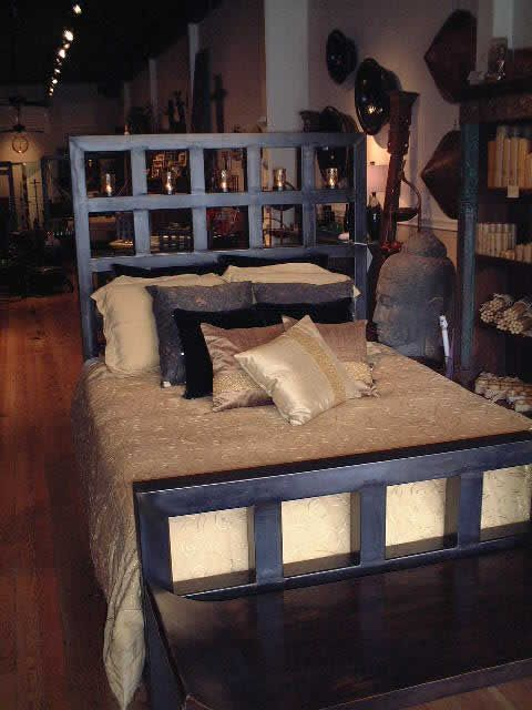 Dalton Bed Dungeon Beds Metal Frame Furnishings Bed