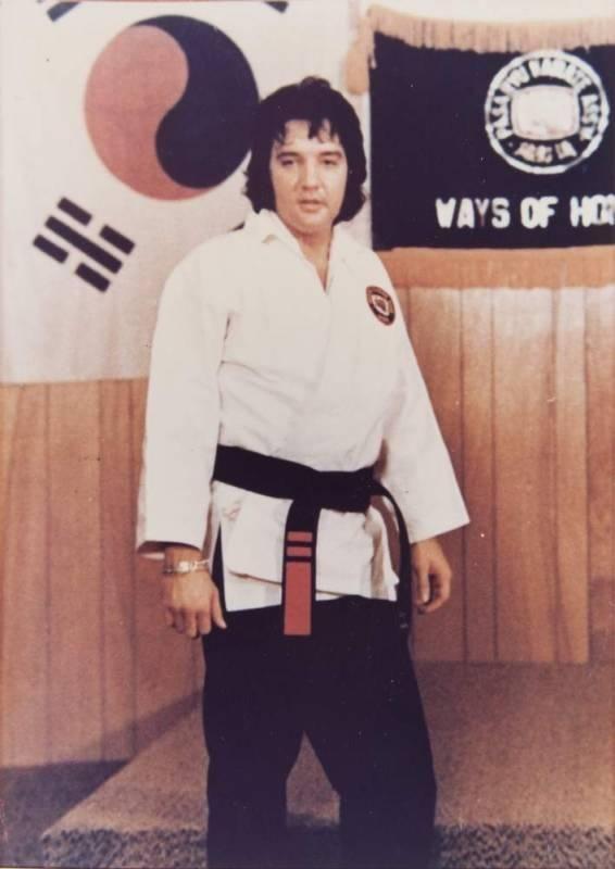 Rezultat iskanja slik za elvis presley karate