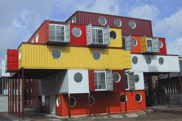 Houses Made Out Of Containers up-cycling. one day i totally want to live in a house made out of