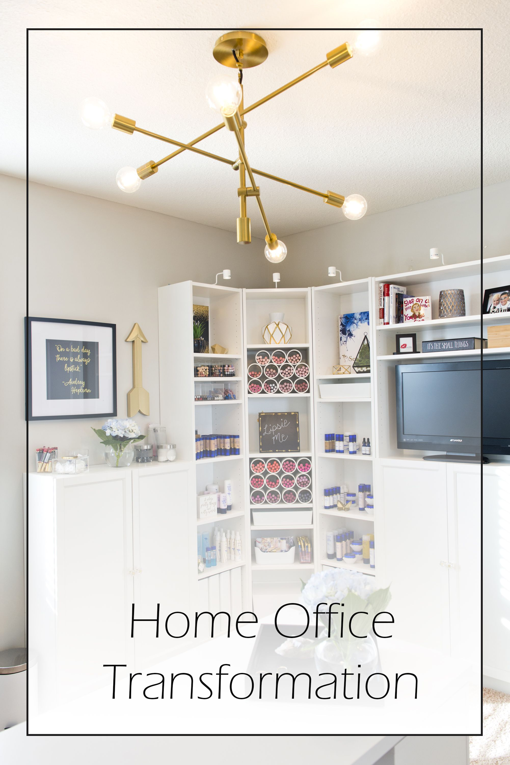 Carver Home Office Reveal | Organizations, Storage and Organization ...
