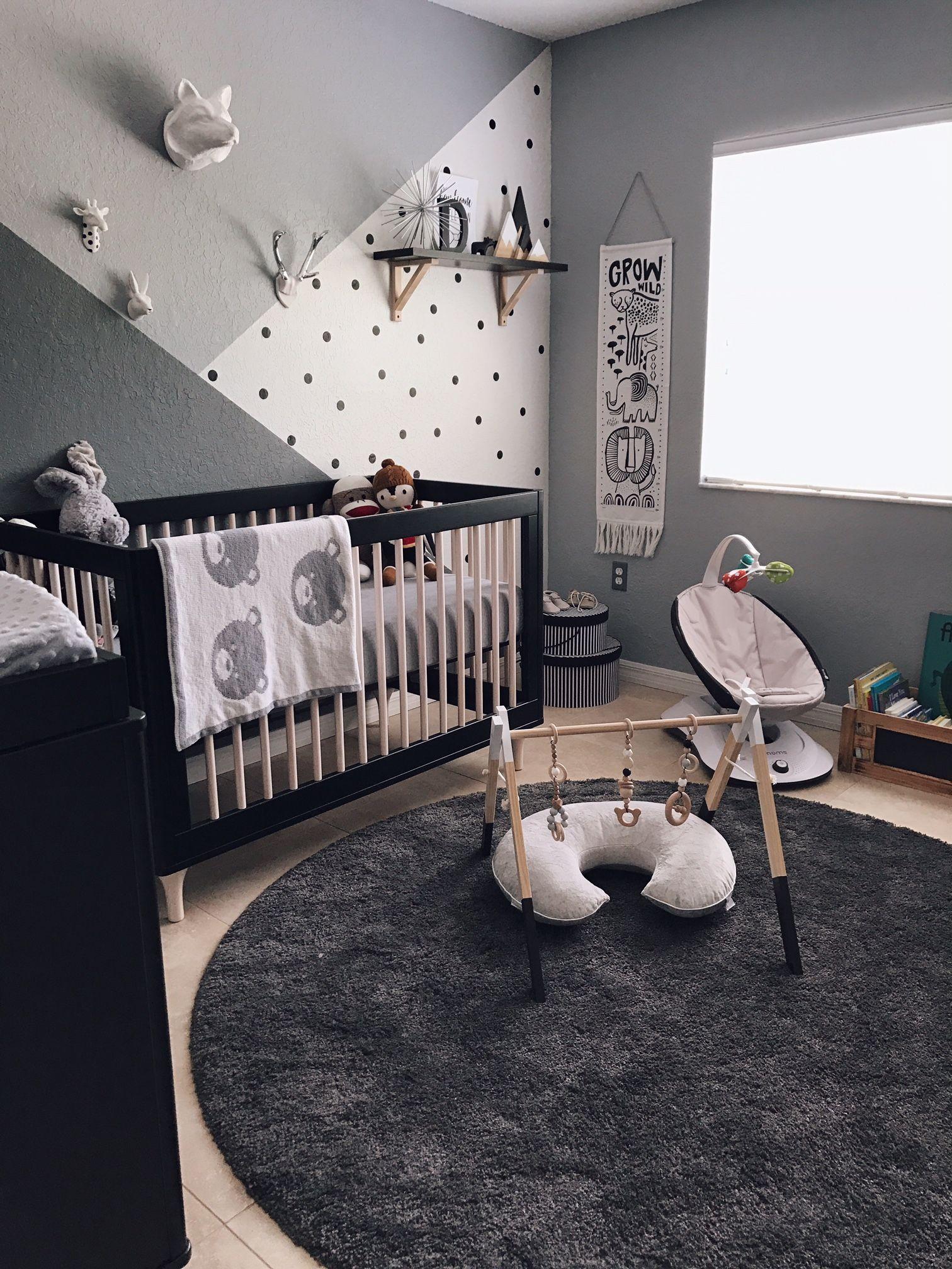 Monochrome Zoo Nursery | Zoo project, Project nursery and Nursery