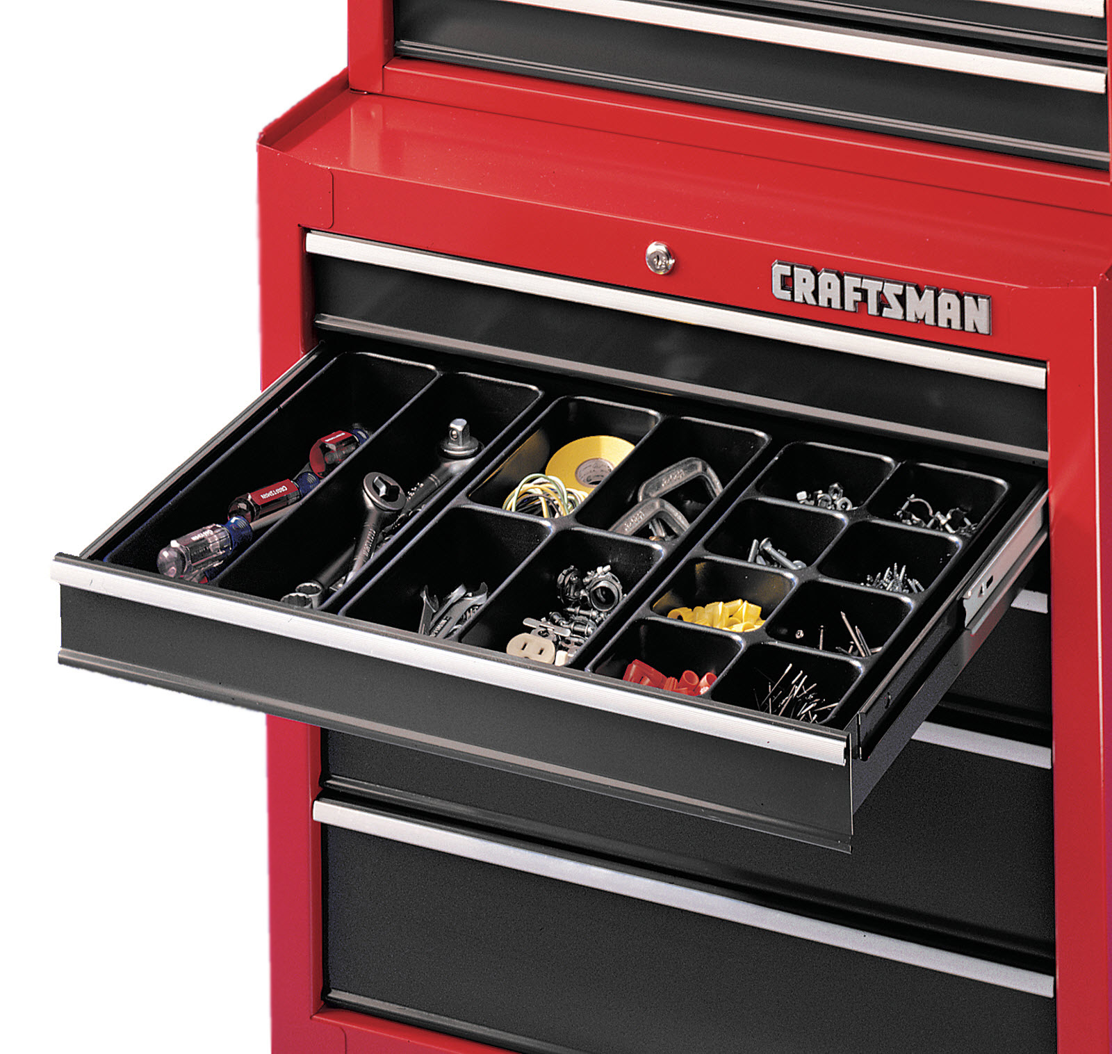 Tool Chest Drawer Organizer For Everything At Your Fingertips Tool Chest Craftsman Tools Chest Tool Chest Organization