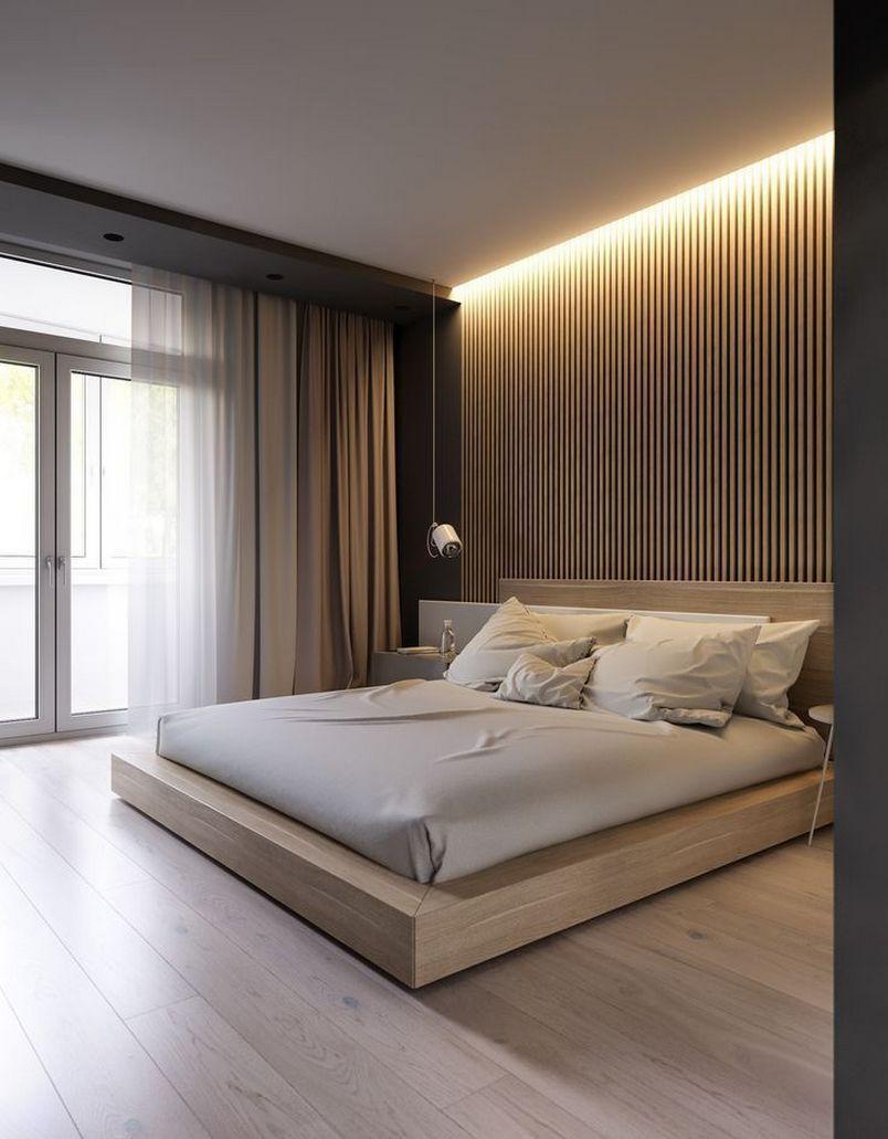 96 Fabulous Modern Minimalist Bedroom Furniture 33 In 2020