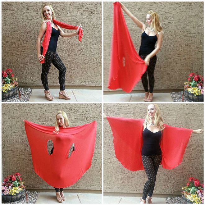 10 Different Ways To Wear Your Shawl Dawls New Fashion
