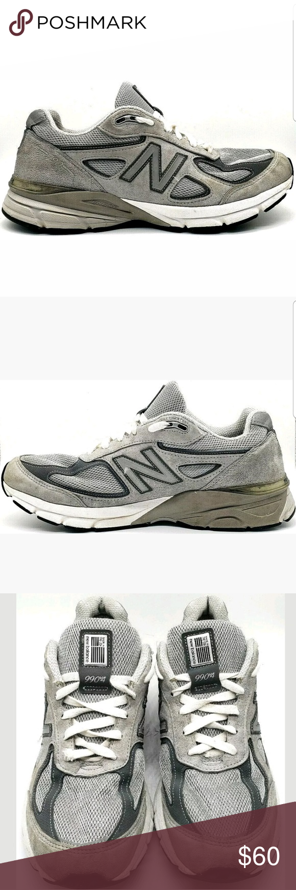 promo code 9dde1 20389 Mens New Balance 990v4 Sneakers M990GL4 Suede USA Mens New ...