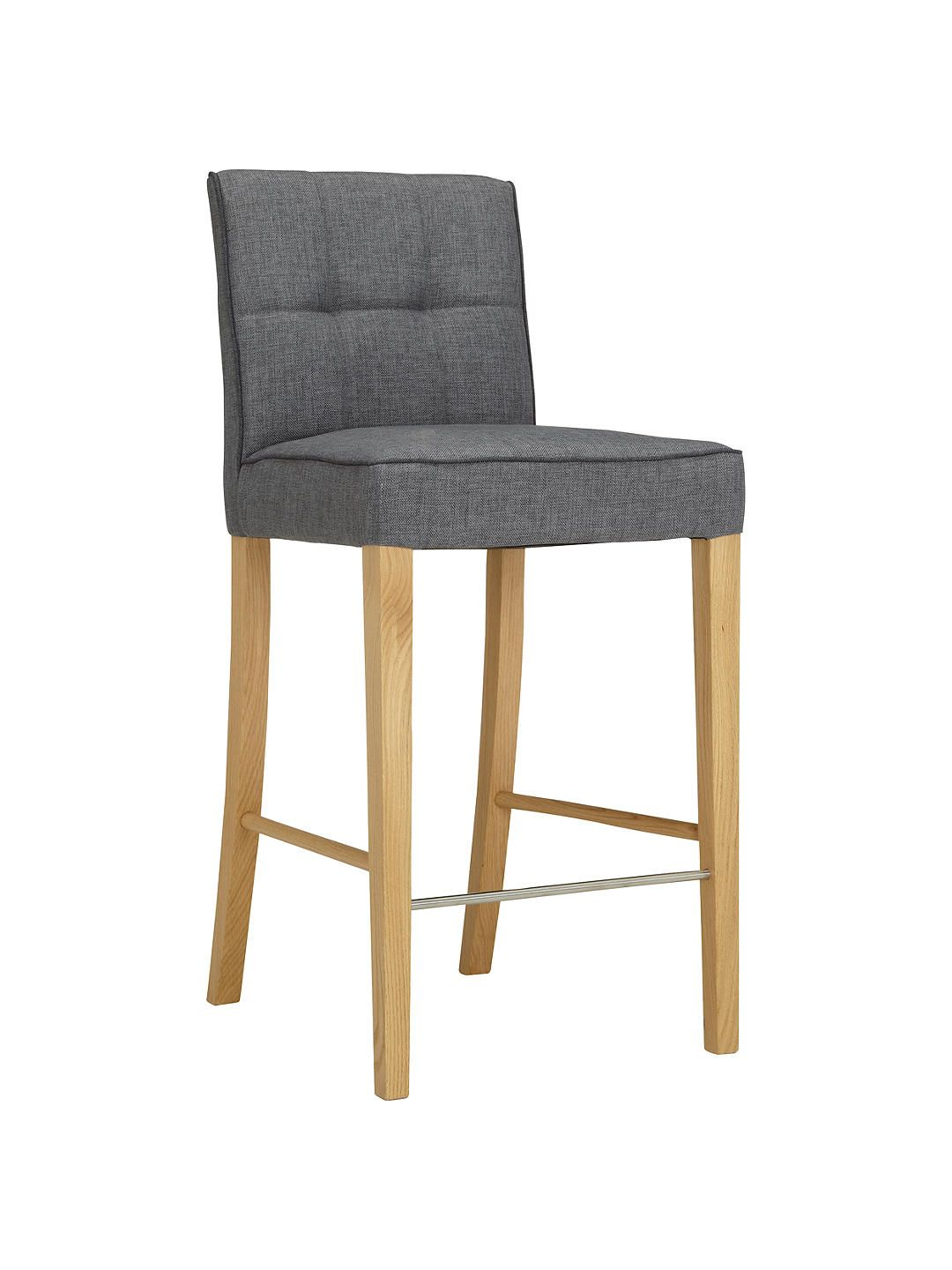 Fabulous John Lewis Partners Simone Bar Chair Grey In 2019 Bar Gmtry Best Dining Table And Chair Ideas Images Gmtryco