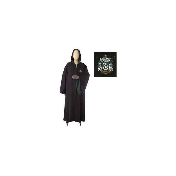 Slytherin Adult Robe ($110) ❤ liked on Polyvore featuring intimates ...
