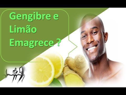 Como Emagrecer Rapido Ate 3 Kilos Por semana com gengibre e limão
