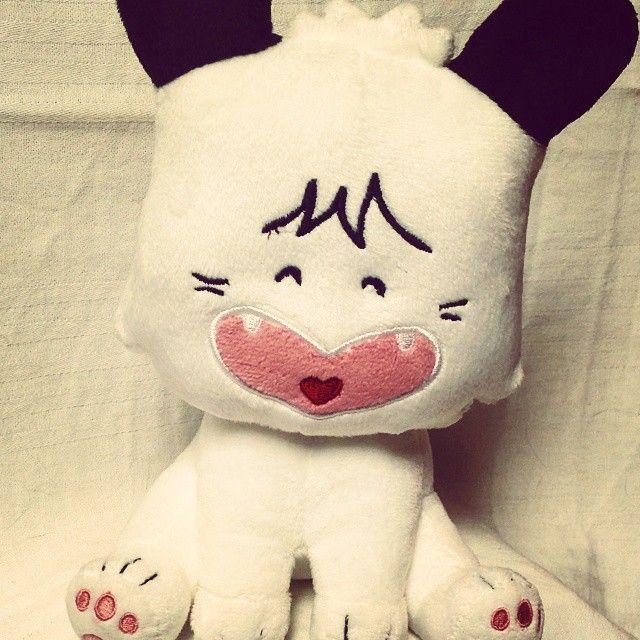 I love #dog. I love #Spank wonderful smile #hellospank #manga #cartoon #japan #supanku #love