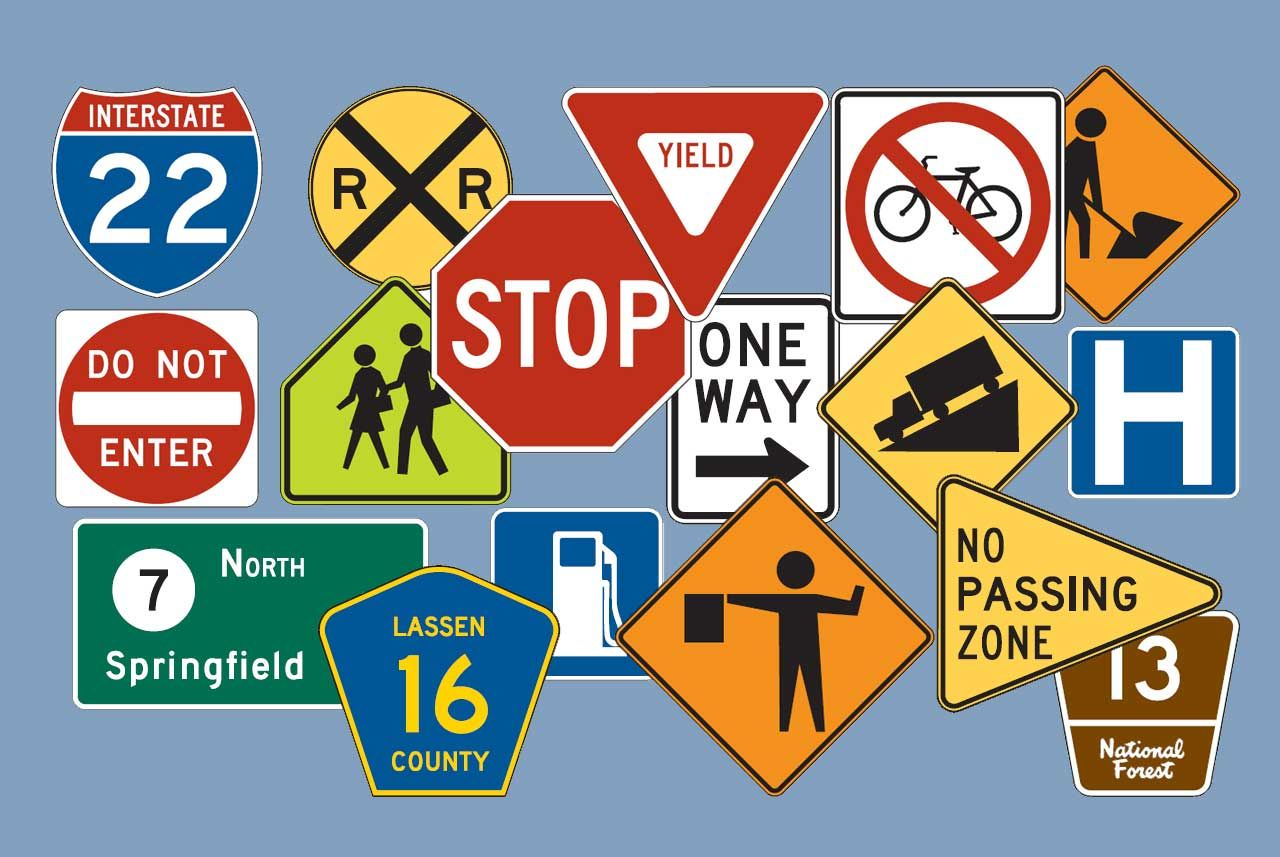 Check Alhafiz Kuwait Traffic Signs and Boards. Also Check
