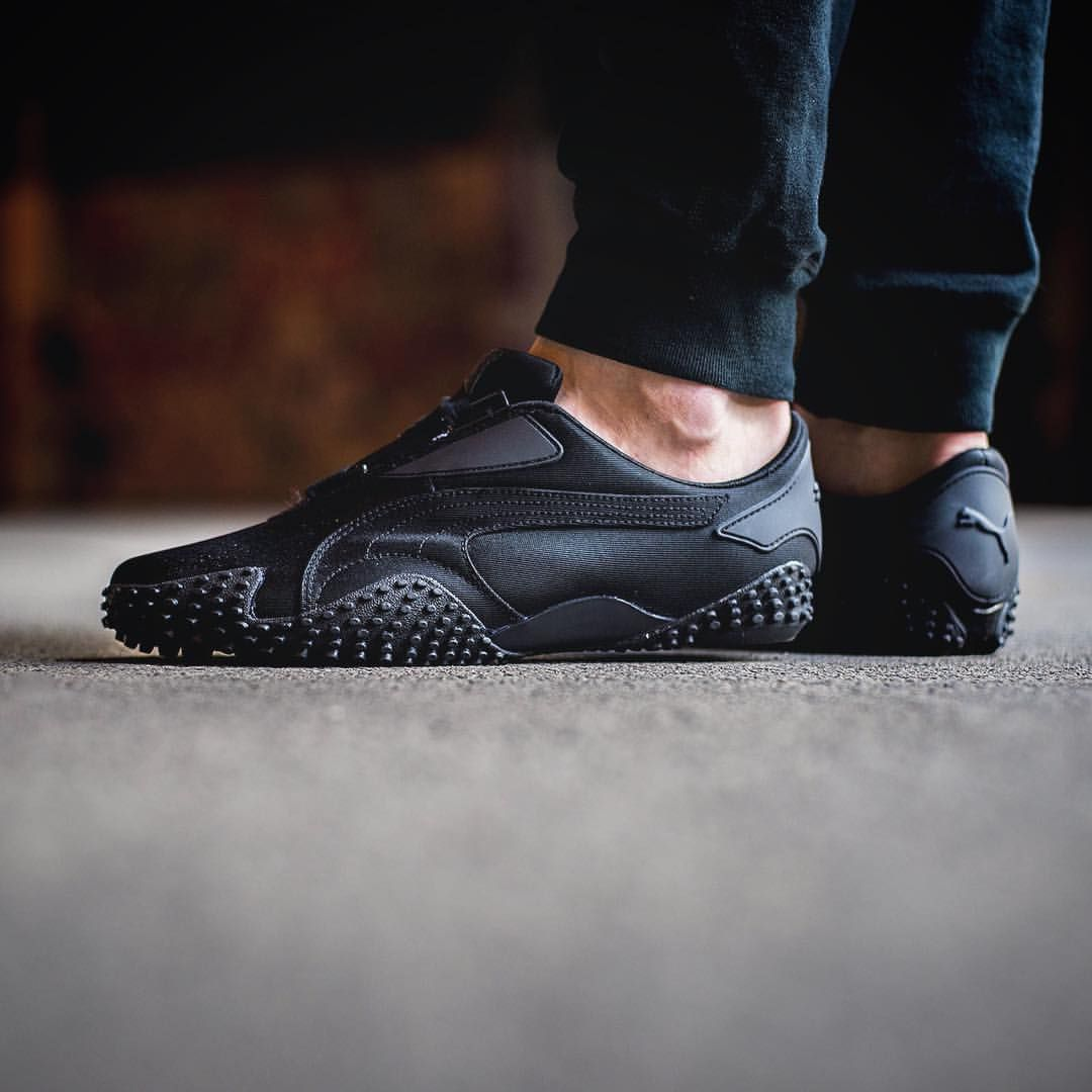 Puma Mostro OG: Black | Sneakers, All black sneakers, Black shoes