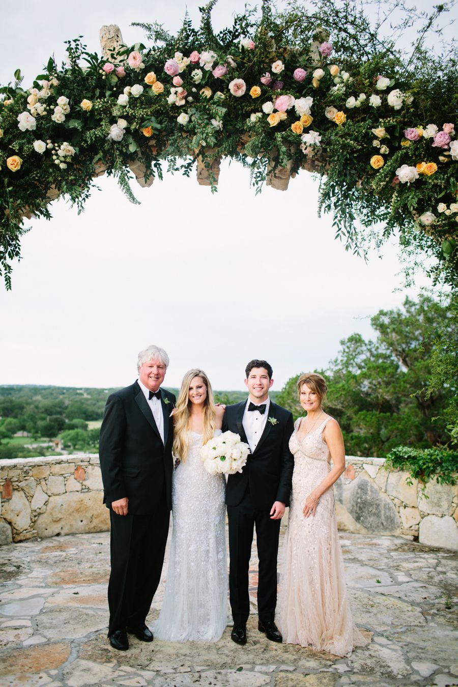Mexican style wedding dress  Southwestern Style Wedding in Dripping Springs Texas  Vaulting and