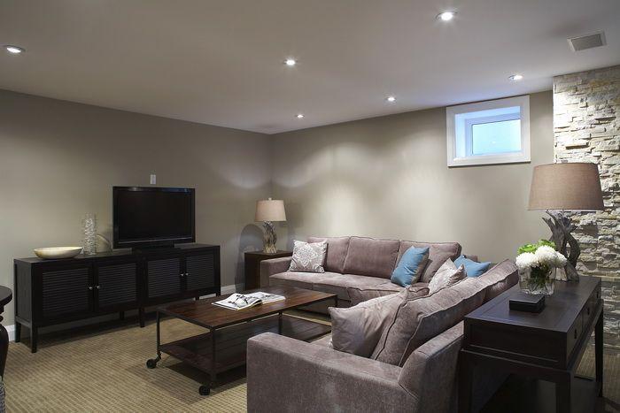 Basement rec room dream home cozy basement basement - 7 great basement design ideas ...