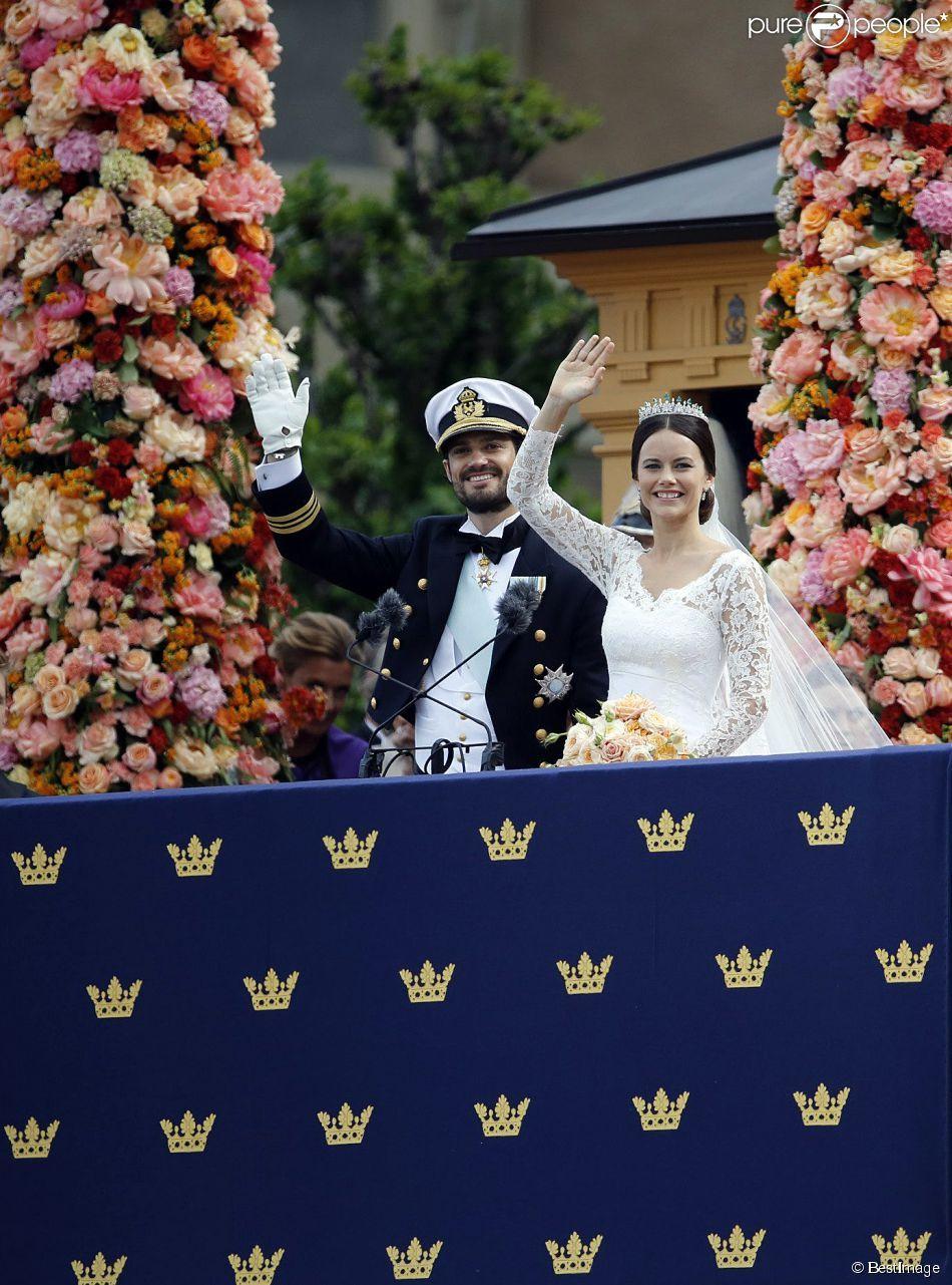 Le Prince Carl Philip De Suede Et Sa Femme Sofia Hellqvist La