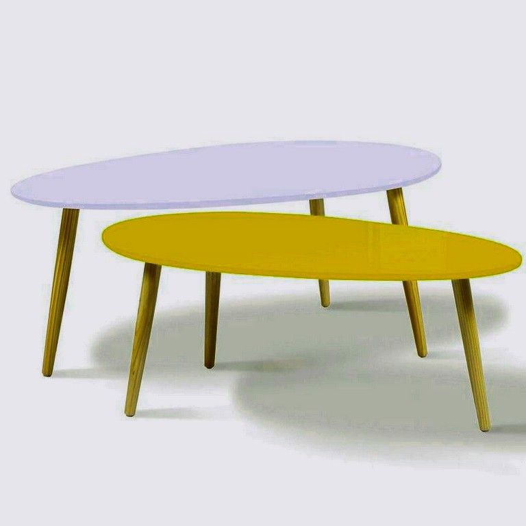 Ideal Table Basse Scandinave Blanche Complexe