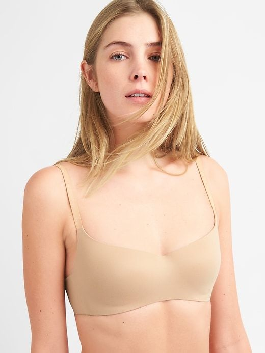 3af6241416 the most comfortable bras after breast surgery-or ever! - Pardon My French.  Gap Womens Live-In Pretty Wireless Bra Cafe Au Lait Nude