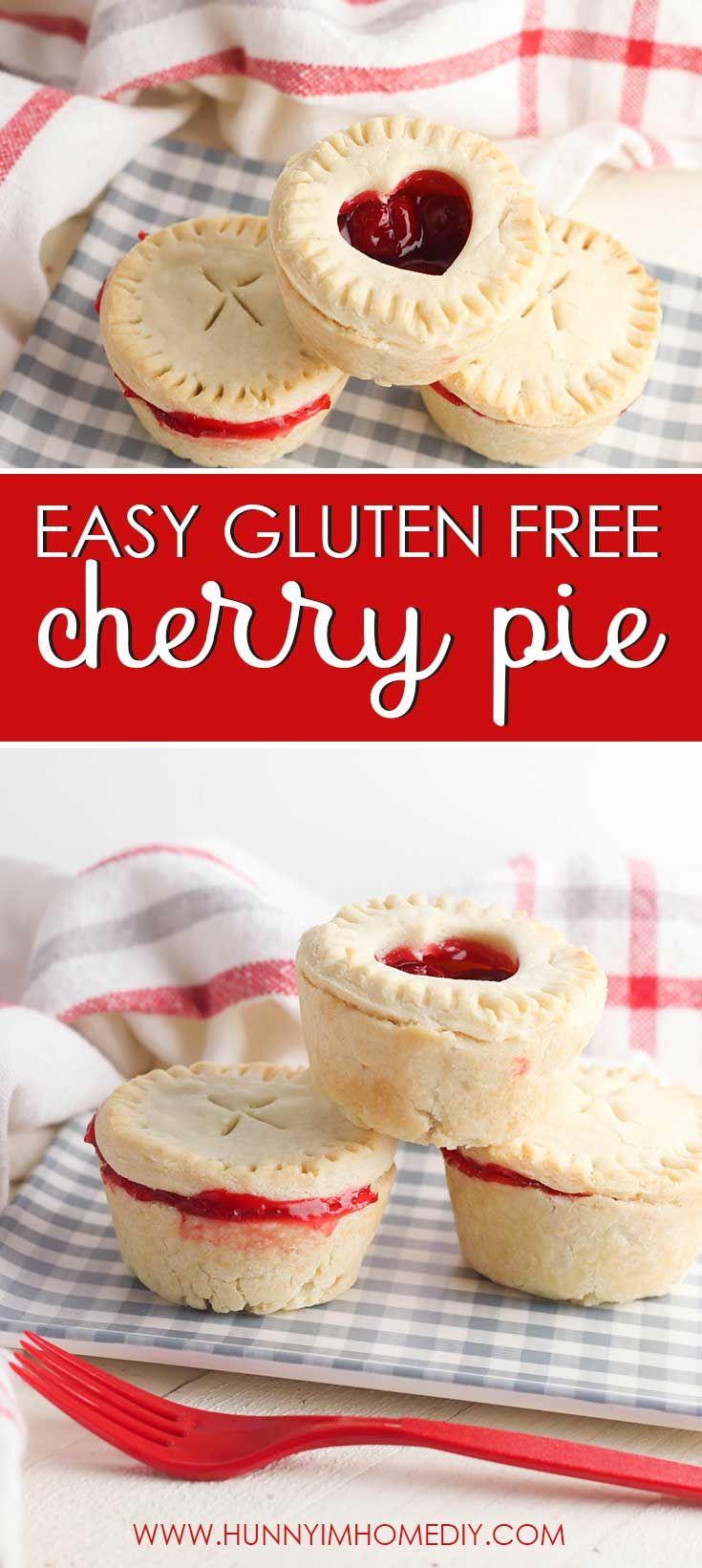 Easy gluten free cherry pie cups hunny im home diy in