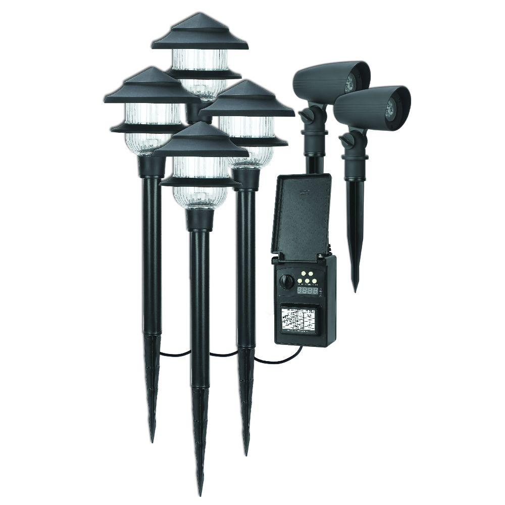 Pin On Outdoors 2 0 Low voltage landscape lighting sets