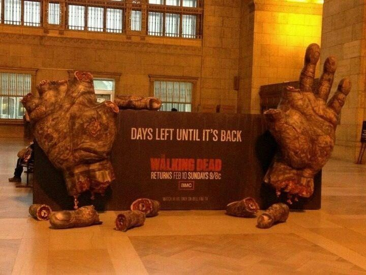 3 days until the walking dead is back! I dunno where this is, but it's fucking awesome