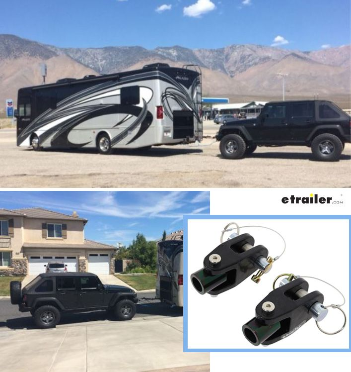 Adapter For Jeep D Ring Bumper Mounts To Roadmaster Motor Home Mount Tow Bars 3 4 Thick Roadmaste Jeep Jeep Bumpers Towing