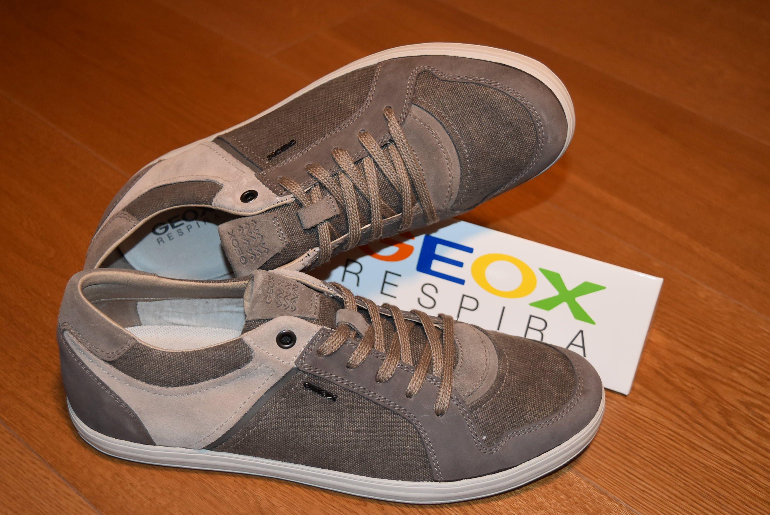 Uomo Sneakers Geox U Box D U54r3d Dove GreyMud