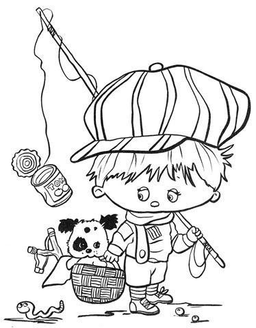 Mais Desenhos Infantis De Meninos Desenhos Paginas Para Colorir