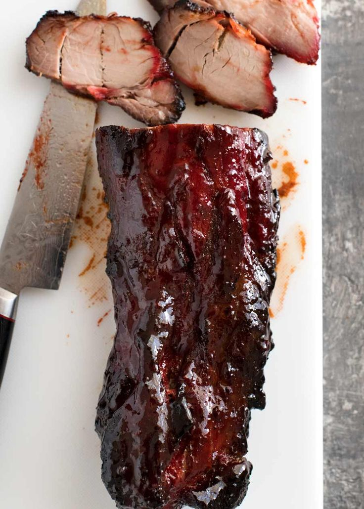 Char Siu - Chinese Barbecue Pork #finecooking