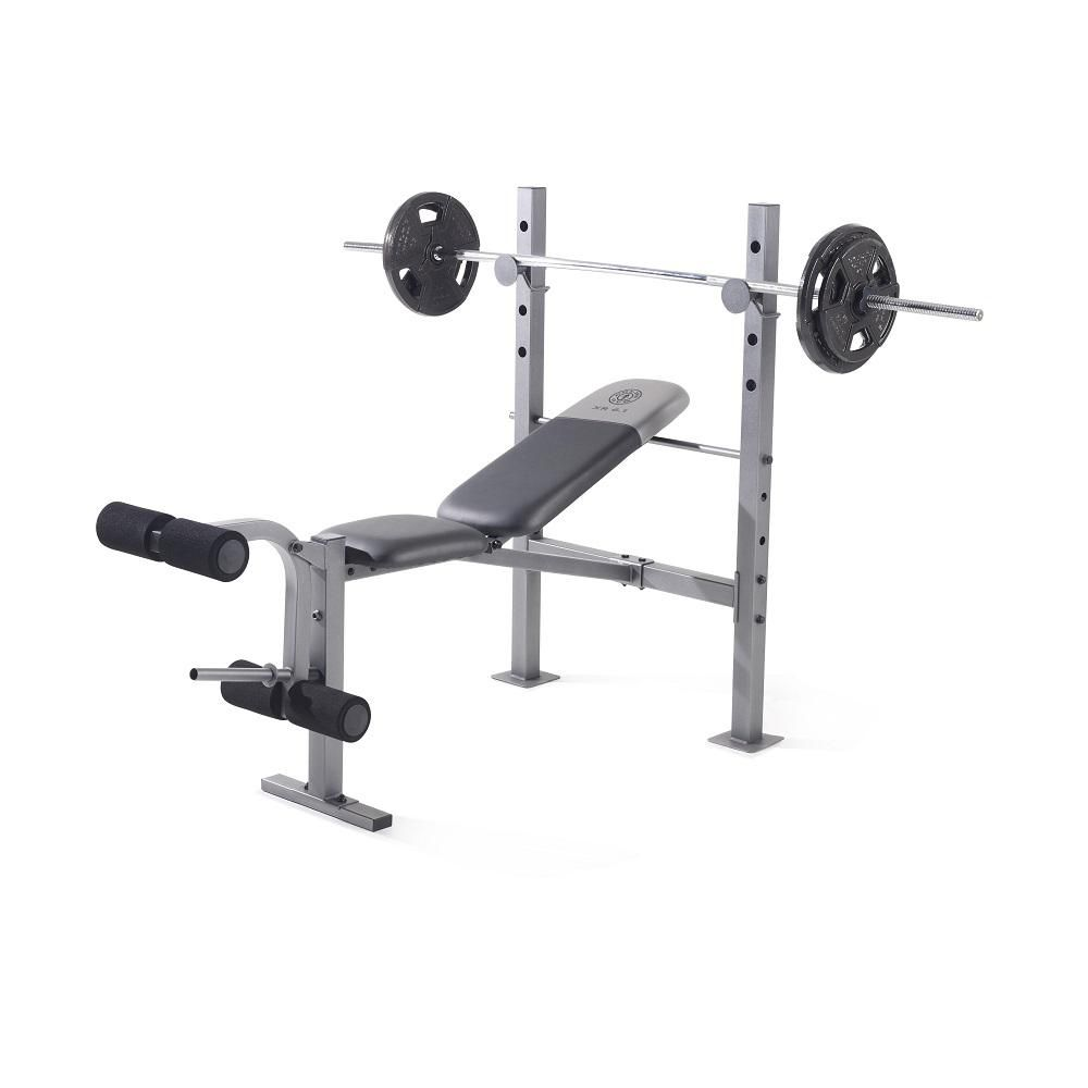 Gold S Gym Xr 6 1 Weight Bench Weight Benches Weight Bench Set Gym Weights