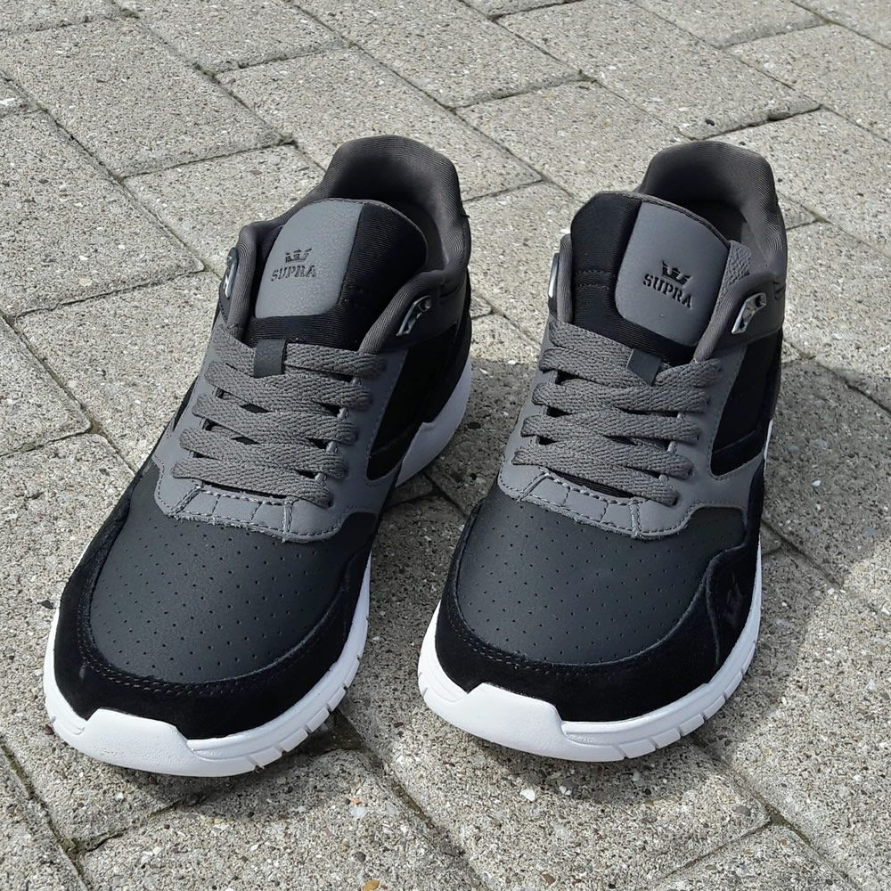 8f0d6c85c2 Supra Winslow. Black and Charcoal. Safe. Very wearable indeed ...