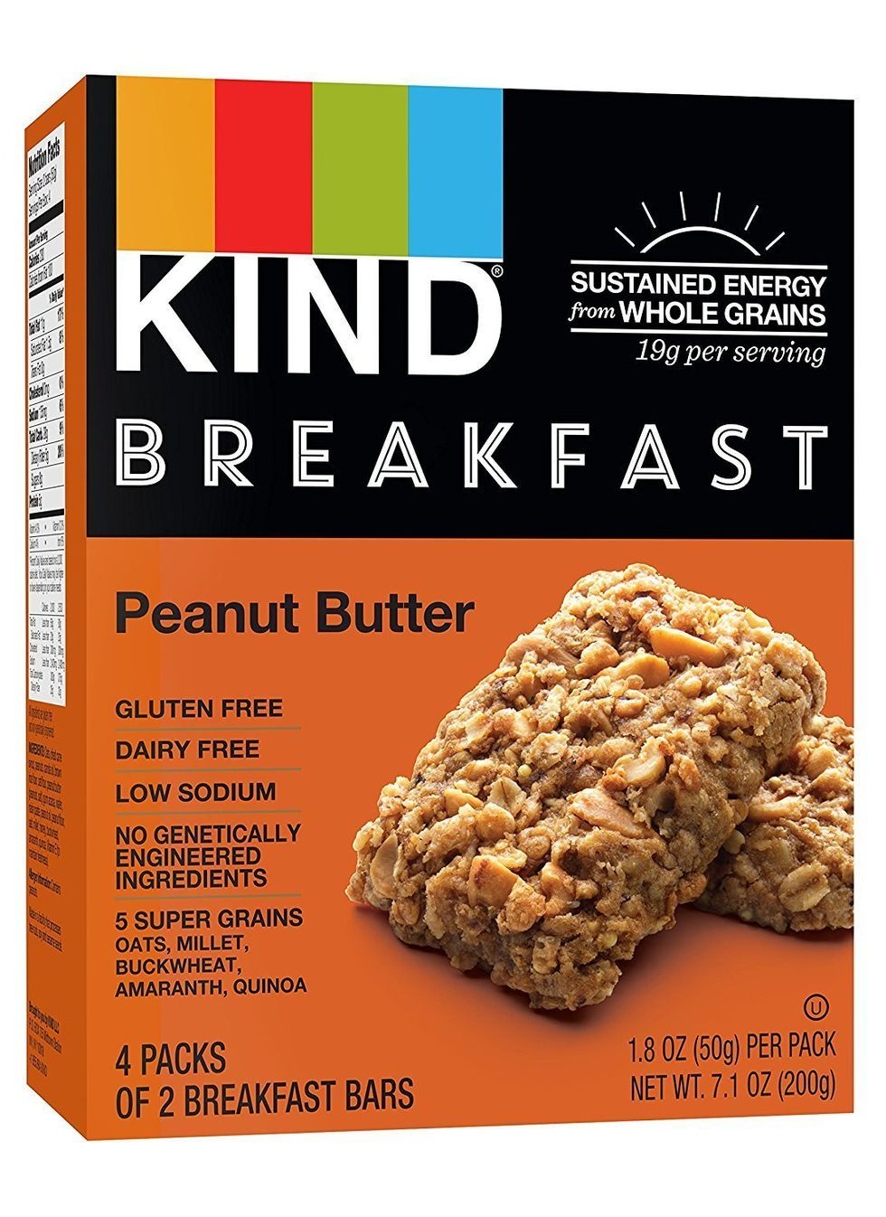 The 25 Best Breakfast Bars To Fuel Busy Mornings Kind Breakfast Bar Gluten Free Peanut Butter Peanut Butter Breakfast Bar