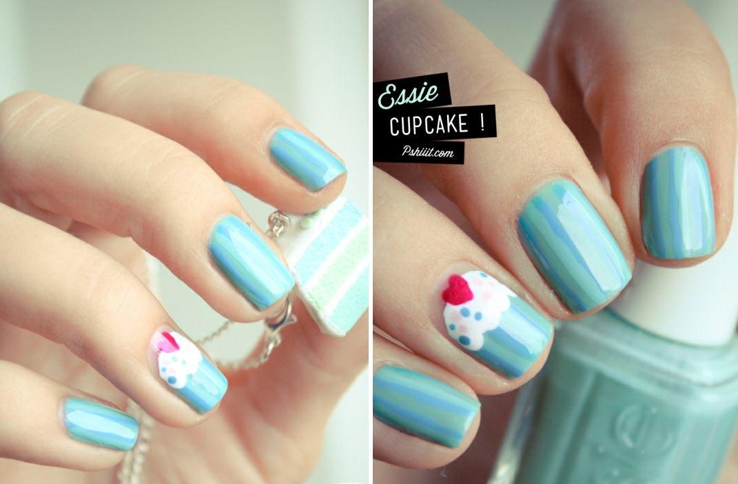 Cute cupcake nails..