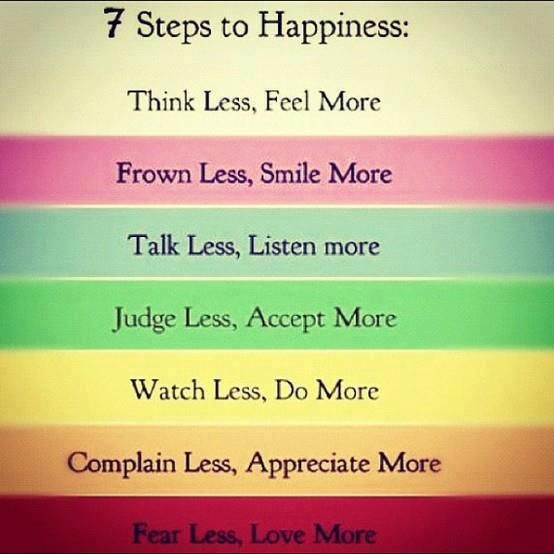 60 Steps To Happiness Inspirational Quotes Sayings Inspiration Delectable Happy Life Quotes And Sayings