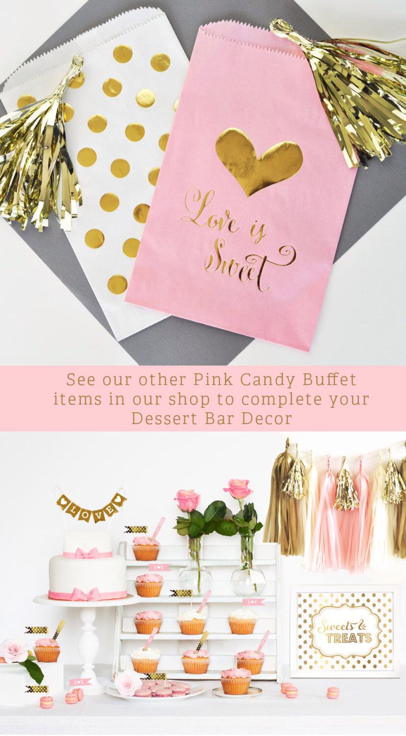 Pink And Gold Bridal Shower Favors - drive.cheapusedmotorhome.info