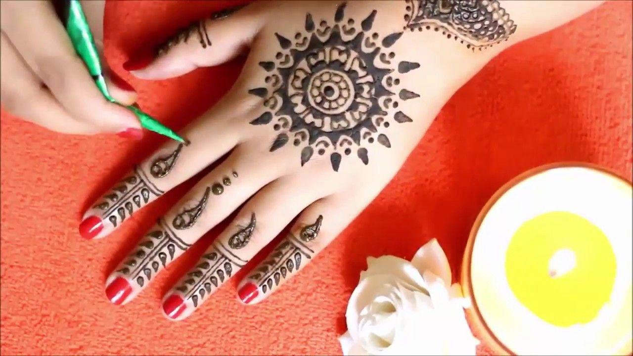 easy mehndi designs for diwali