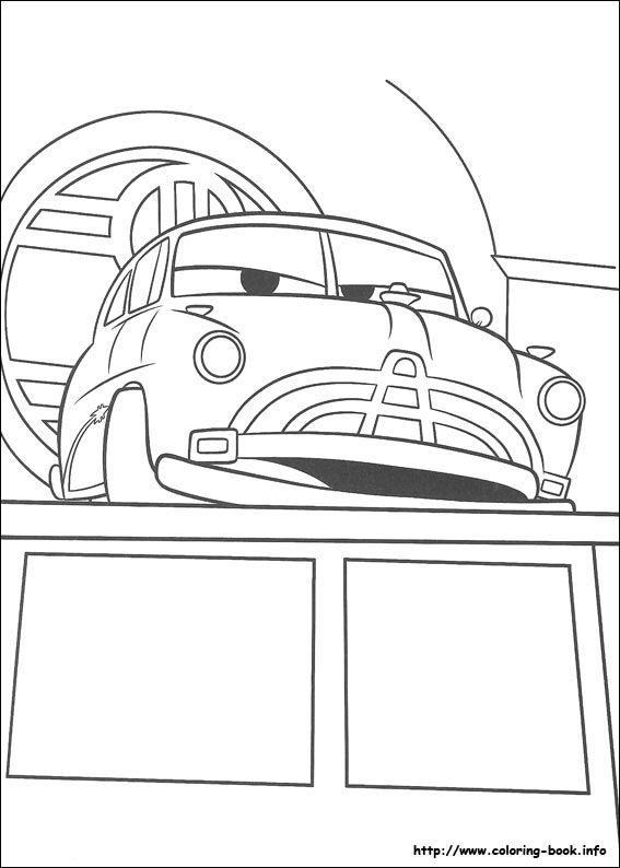 Cars coloring picture Disney Coloring Pages Pinterest - new online coloring pages for cars