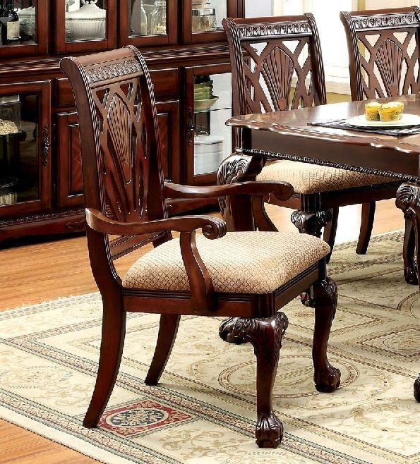 Petersburg I By Furniture Of America Cm3185ac Arm Chair Set Of 2