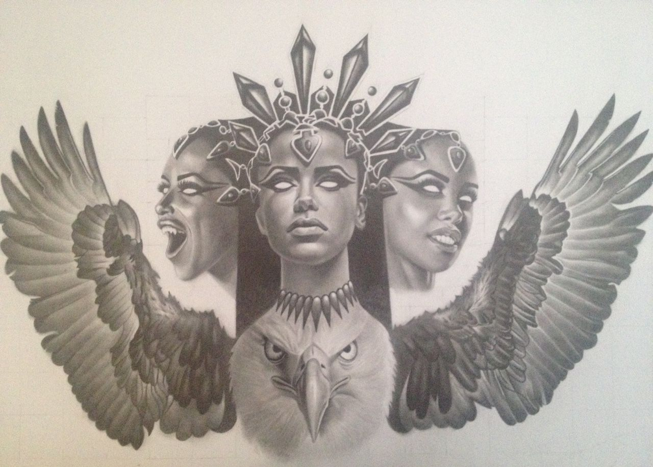 13ca99818cb6d Image result for african queen tattoo | tattoos | African queen ...