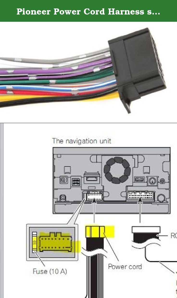 a0999bb3f0dd4d64180743b9c0dcab77 pioneer power cord harness speaker plug for navigation dvd pioneer sph da210 wiring diagram at bayanpartner.co